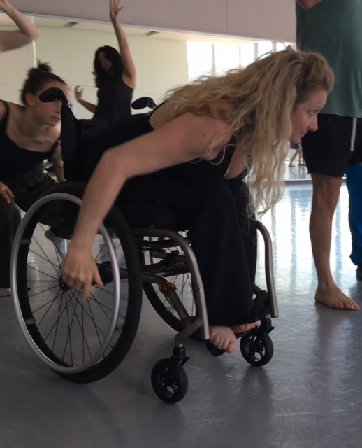 Spirit Synott: Performer, Actor and Dancer at The 5-Day DanceAbility Intensive with Michelle Silagy